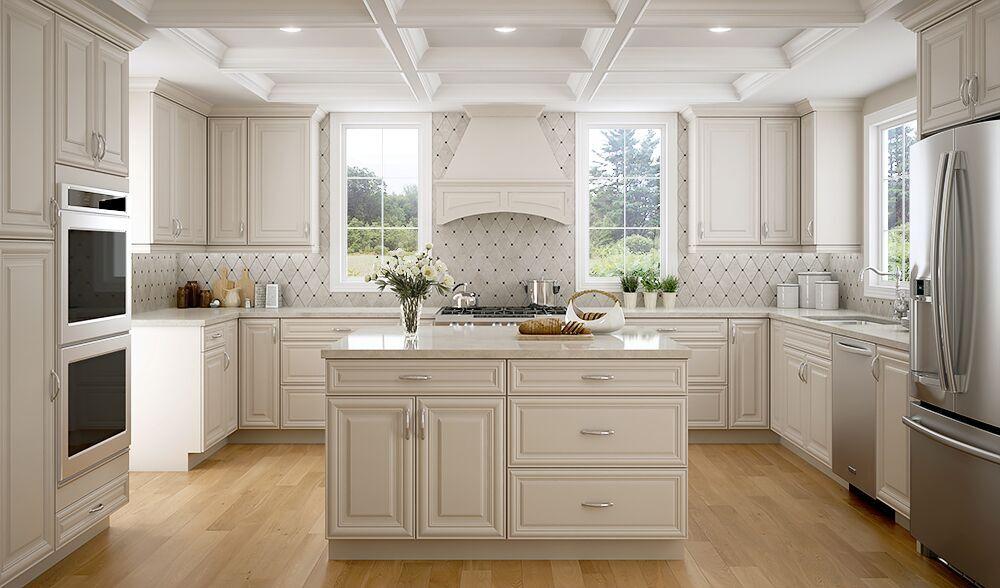 Harmony pearl - Entrepot-cuisine-Cuisine Harmony Pearl-armoires de cuisine