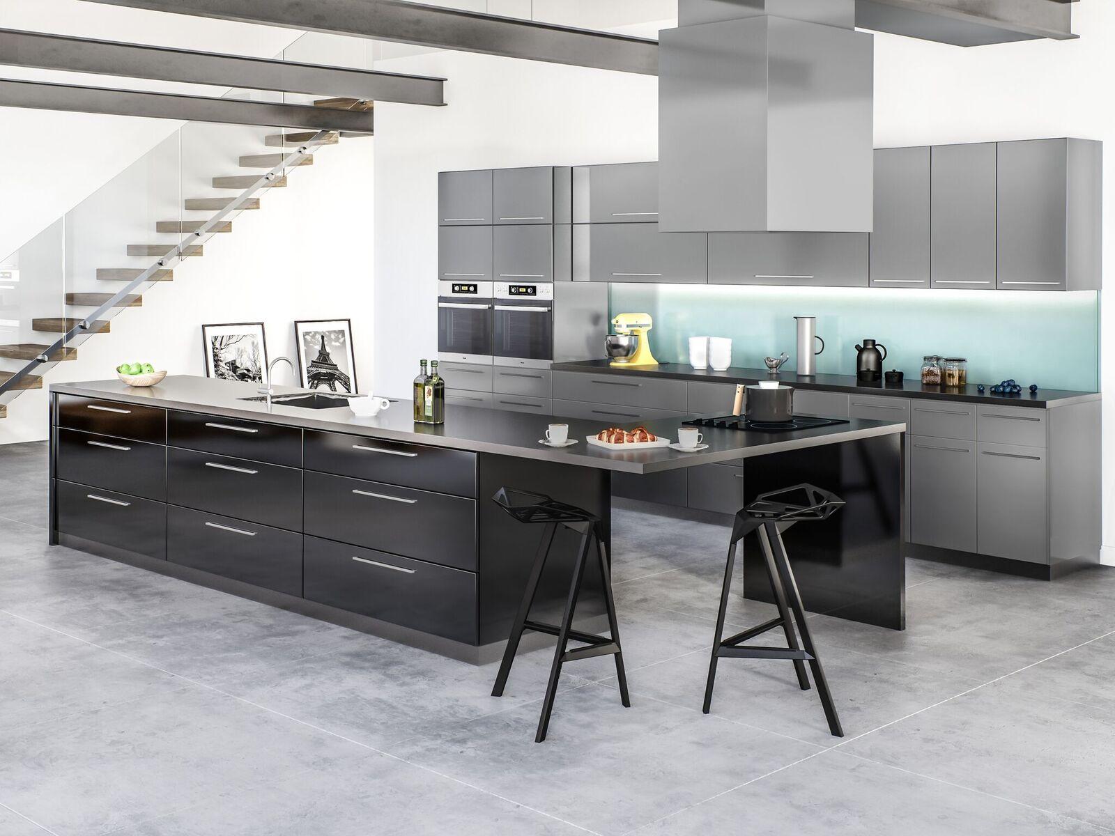 Milano slate - Entrepot-cuisine-CUISINE-armoires de cuisine
